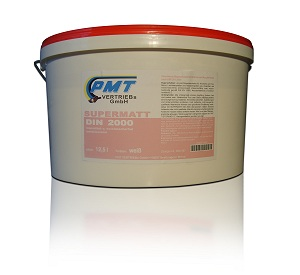 Innenfarben PMT Supermatt DIN 2000